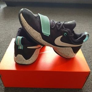 Black and Aqua PG 1's - Youth 7
